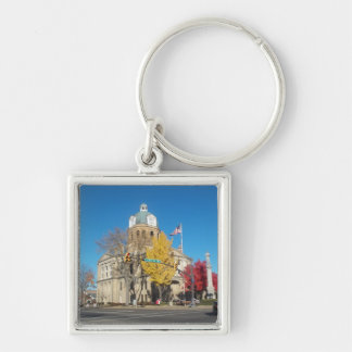 The Court House Keychain