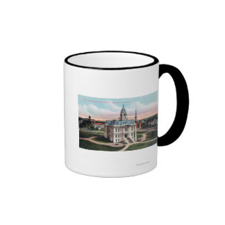 The Court House, Post Office, Capitol Bldg Mugs