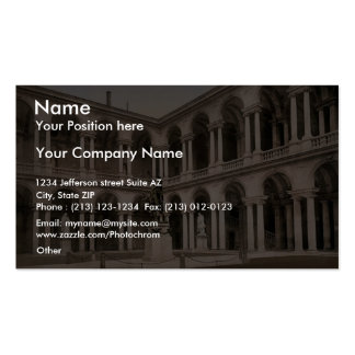 The Court of Brera, Milan, Italy vintage Photochro Double-Sided Standard Business Cards (Pack Of 100)