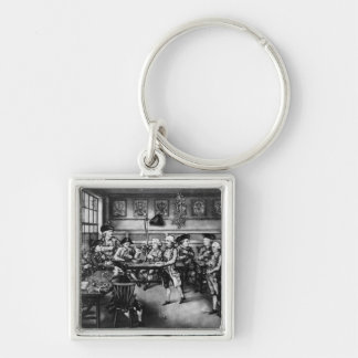 The Court of Equity or Convivial City Meeting Keychain