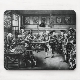 The Court of Equity or Convivial City Meeting Mouse Pad