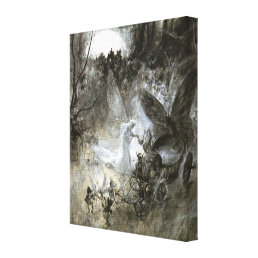 """""""The Court of Faerie"""" Canvas Print"""