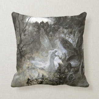 """""""The Court of Faerie"""" Throw Pillow"""