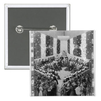 The Court of Justice Pinback Button
