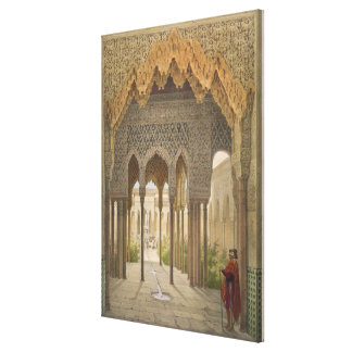 The Court of the Lions, the Alhambra, Granada, 185 Canvas Print