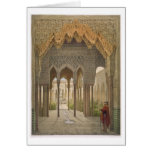 The Court of the Lions, the Alhambra, Granada, 185 Cards