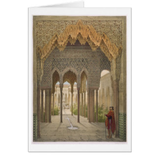 The Court of the Lions, the Alhambra, Granada, 185 Card