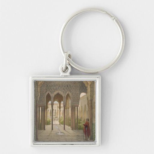 The Court of the Lions, the Alhambra, Granada, 185 Keychains