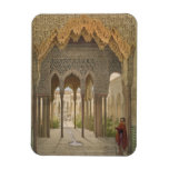 The Court of the Lions, the Alhambra, Granada, 185 Rectangle Magnets