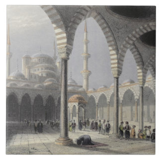 The Court of the Mosque of Sultan Achmet, Istanbul Ceramic Tile