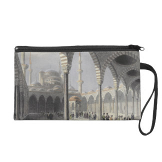 The Court of the Mosque of Sultan Achmet, Istanbul Wristlet Purse