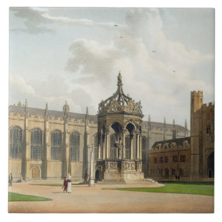 The Court of Trinity College, Cambridge, from 'The Large Square Tile