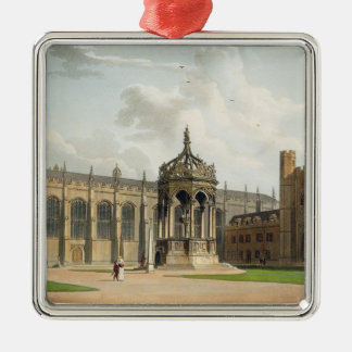 The Court of Trinity College, Cambridge, from 'The Ornament
