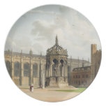 The Court of Trinity College, Cambridge, from 'The Plates