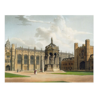 The Court of Trinity College, Cambridge, from 'The Postcard