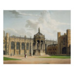 The Court of Trinity College, Cambridge, from 'The Print