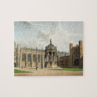 The Court of Trinity College, Cambridge, from 'The Puzzles