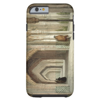 The Court Room of the Alhambra, Granada, 1853 (lit Tough iPhone 6 Case