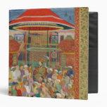 The Court Welcoming Emperor Jahangir 3 Ring Binders