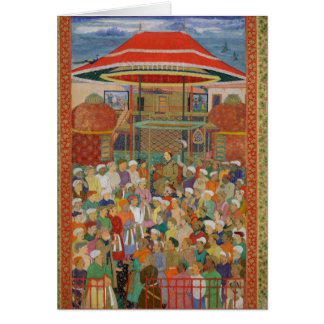 The Court Welcoming Emperor Jahangir Card