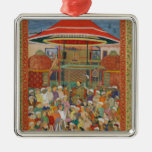 The Court Welcoming Emperor Jahangir Ornament