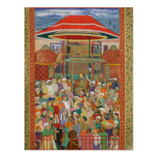 The Court Welcoming Emperor Jahangir Postcard