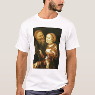 The Courtesan and the Old Man, c.1530 T-Shirt