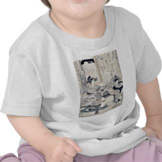 The courtesan Chozan of Choji ya by Santo, Kyoden T-shirt