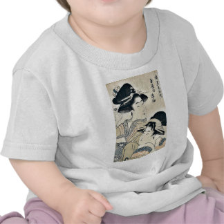 The Courtesan Tagasode of Tamaya Ukiyoe T-shirt