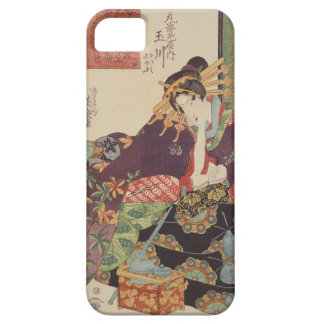 The Courtesan Tamagawa of the Maruebiya House iPhone SE/5/5s Case