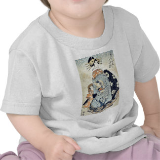 The courtesan Yachiyo by Kikukawa,Eizan T-shirts