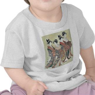 The courtesans by Hosoda,Eishi Tshirt