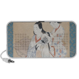 The Courtesan's Coiffure, c.1700-14 Notebook Speakers