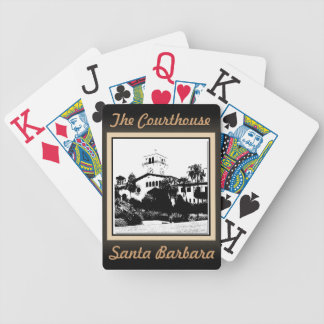 The Courthouse - Santa Barbara Playing Cards