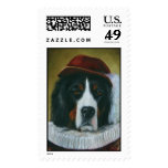 The Courtier Postage Stamp