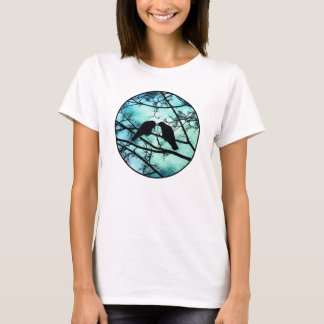The Courtship of Crows (Circle) Shirt