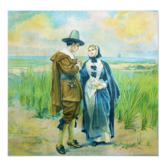 The Courtship of Miles Standish Print