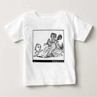 The Courtship of the Yonghy-Bonghy-Bo Baby T-Shirt