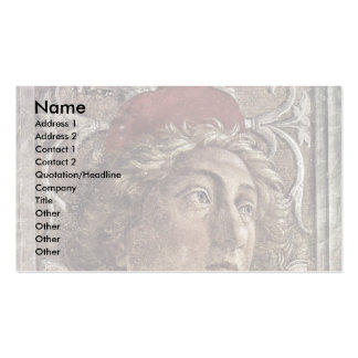 The Courtyard Of The Gonzaga,Detail Double-Sided Standard Business Cards (Pack Of 100)