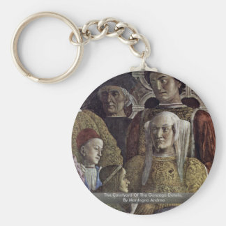 The Courtyard Of The Gonzaga Details Keychain
