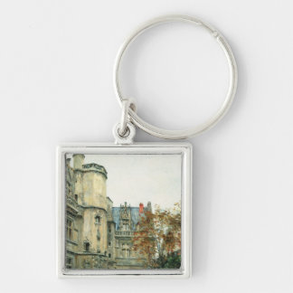 The Courtyard of the Museum of Cluny, c.1878-80 Keychain