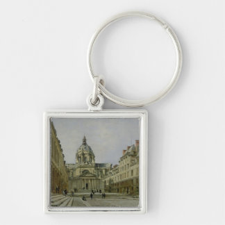 The Courtyard of the Old Sorbonne, 1886 Keychain
