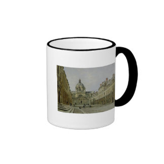 The Courtyard of the Old Sorbonne, 1886 Ringer Coffee Mug