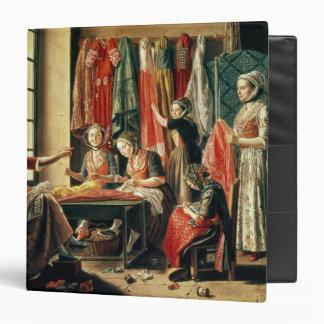 The Couturier's workshop, Arles, 1760 3 Ring Binder