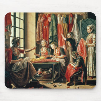 The Couturier's workshop, Arles, 1760 Mouse Pad
