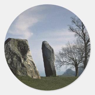 The Cove, Avebury, Wiltshire, England Europe Classic Round Sticker