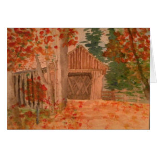 The Covered Bridge Card