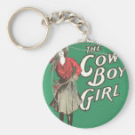The Cow Boy Girl - Vintage Key Chains