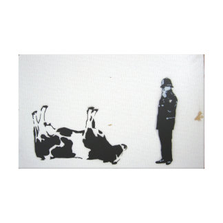 The Cow Canvas Print