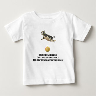 The Cow Jumped Over The Moon Baby T-Shirt